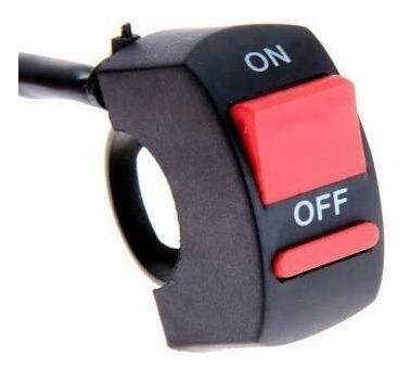 botón switch moto interruptor intermitentes 3 cables