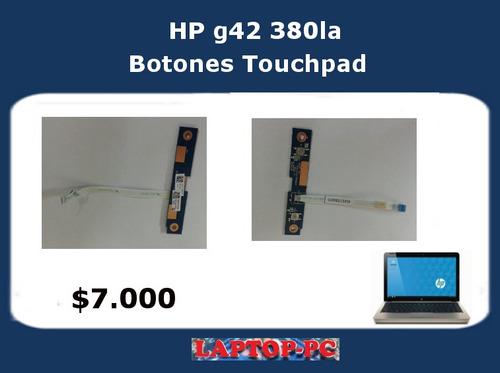 boton touchpad hp g42 380la