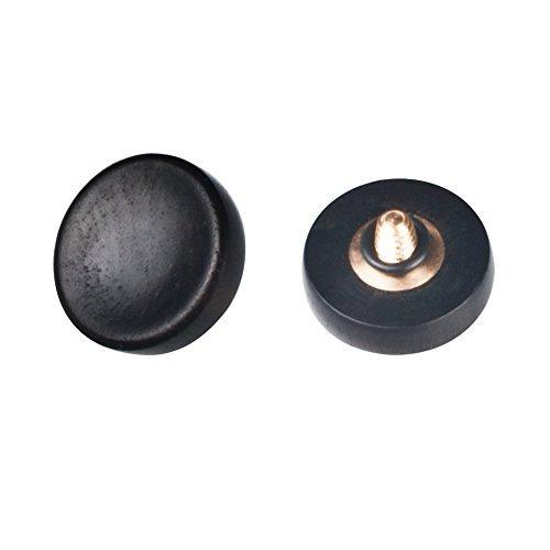 botón vko de madera blanda de disparo del obturador para fuj