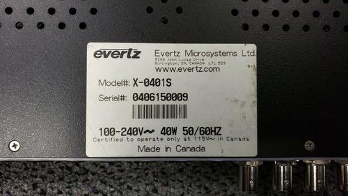 botoneira comutador switcher vídeo áudio 4x1 sdi hd evertez