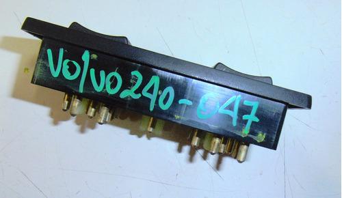 botonera alzavidrio principal volvo 240 gl st año 1987-1991