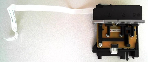 botonera de encendido impresora epson r290 / t50 y l800