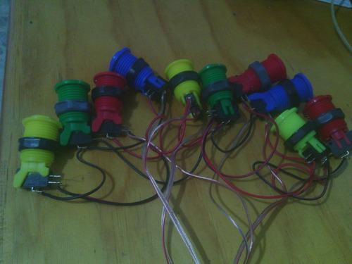 botonera para rockola con  botones muebles