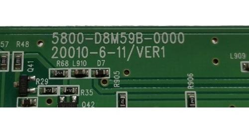 botonera tv sin identificar 5800-dm59b-0000