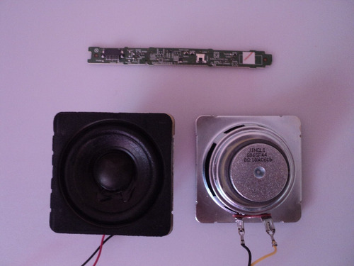 botonera y sensor ba31m0g0203 1 + bocinas sanyo mod fw32d06f