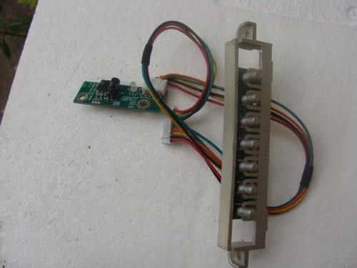 botonera y tarjeta c. remoto tv lcd lexus lxtv1510lcd