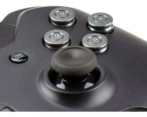botones abxy bala para control xbox one oro plata negro nick