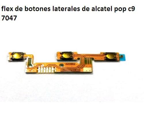 botones alcatel pop c9