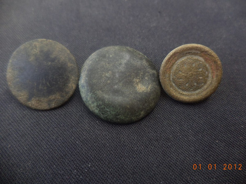 botones antiguos 1700-1900