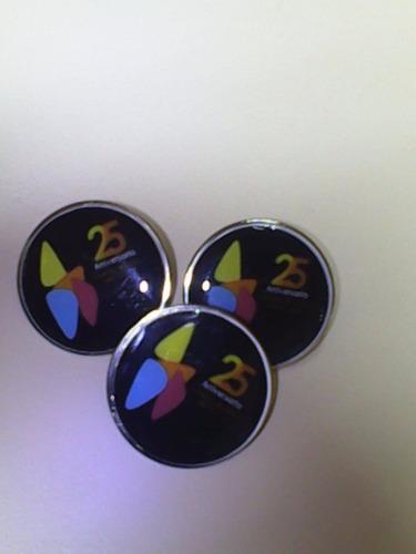 botones de reconocimiento - pines