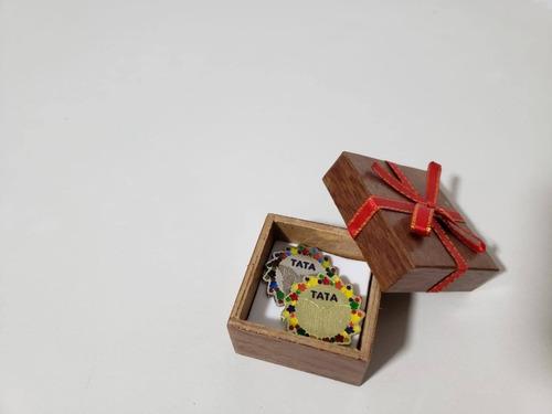 botones de solidaridad tata x2 und: plateado y dorado