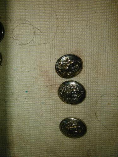 botones e insignias uniforme militar ej/gn