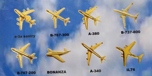 botones pines de aviones para aeromozas, azafatas, piloto...