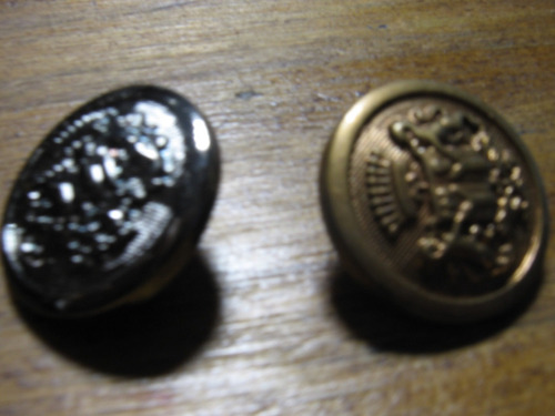 botones simil metal 20mmx 12 unidades