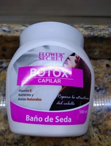 botox capilar flower secret
