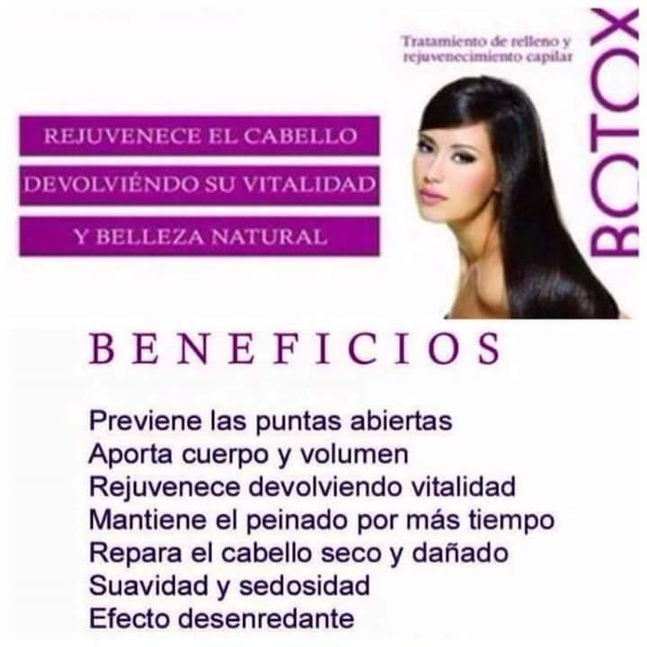 Botox para el cabello beneficios