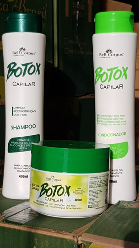 botox capilar produtos