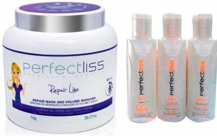 1fb6ec39d Botox Perfect Liss - S.o.s Repair Line 1kg+mini Kit 50ml - R$ 140,00 ...