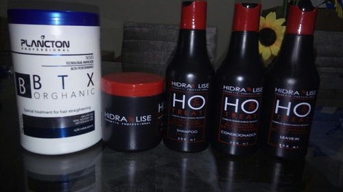 botox plancton + kit pós quimica hidralise