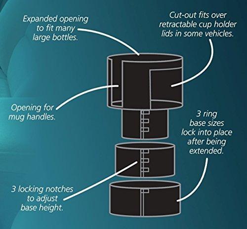 bottlepro 2 - adaptador ajustable y extensible para portavas