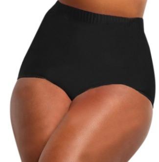 bottom cintura alta tallas extra bikini mujer, traje de baño