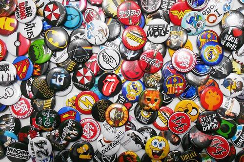 bottons personalizados,bandas,botons,broches,3,8cm