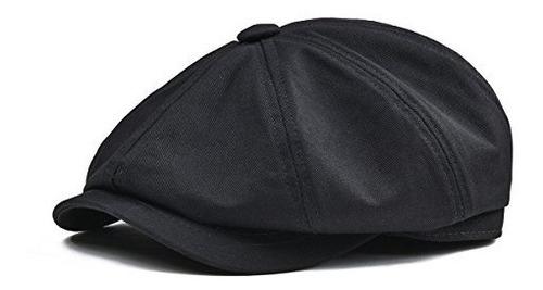 botvela para hombre 8 piezas gorra 100% algodón gatsby hied