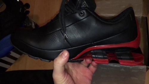 bounce negra dorada roja zapatillas adidas porsche
