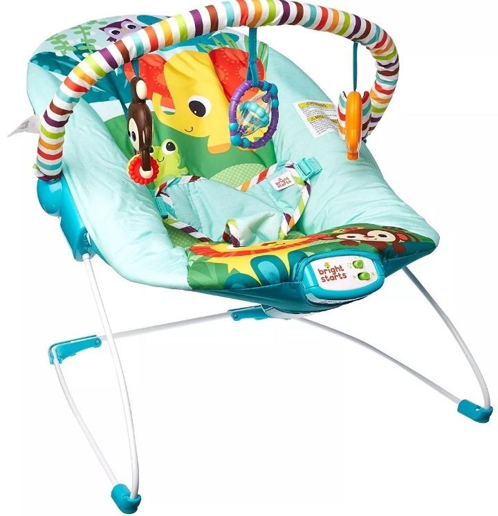 cad5a916a Bouncer Mecedora Para Bebé Safari Surprise De Fisher Price ...