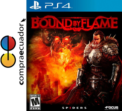 bound by flame ps4, juego original sellado, playstation 4
