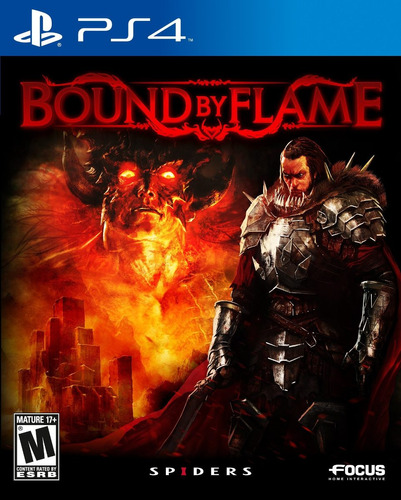 bound by flame+ ps4 nuevo sellado region 1 español