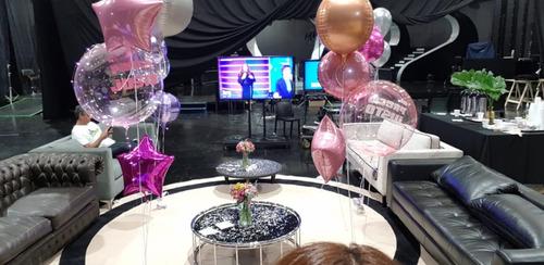 bouquet 5 globos personalizados sin inflar,