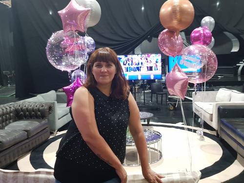 bouquet 7 globos personalizados sin inflar