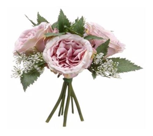 bouquet de rosa cottage malva