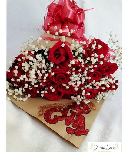 bouquetes de rosas