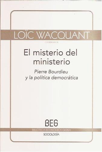 bourdieu- wacquant- popeau- el misterio del ministerio nuevo