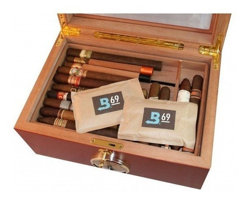boveda 69% humidor humidificador cigarros habanos 60gr