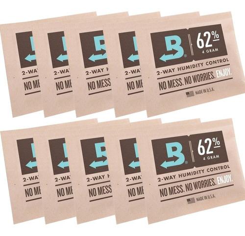 boveda 8gr 62% control humedad envase conservación pack 10