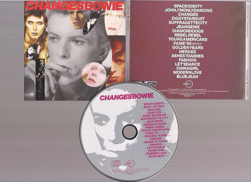 bowie - changes - cd - by maceo