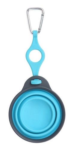 bowl colapsable viaje c/ porta botella - dexas