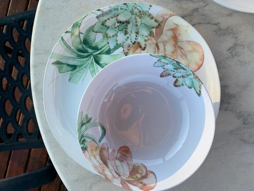 bowl de melamina blossom