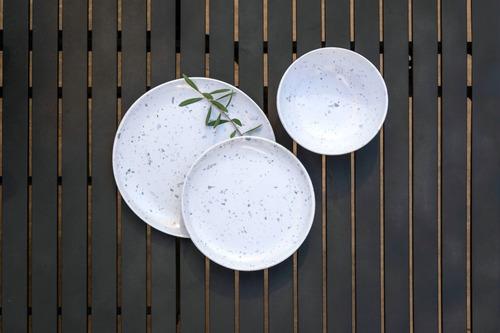 bowl de melamina terrazo