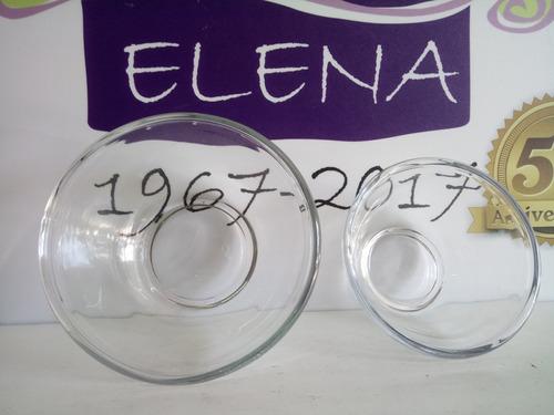 bowl de vidrio templado libbey apto horno freezer 2 litros