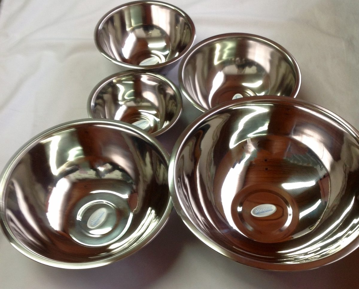 Bowl en acero inoxidable multiusos de 24 cmts ensaladera - U acero inoxidable ...