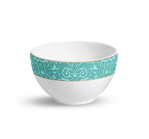 bowl flat elegance porto brasil 22cm com 6 peças