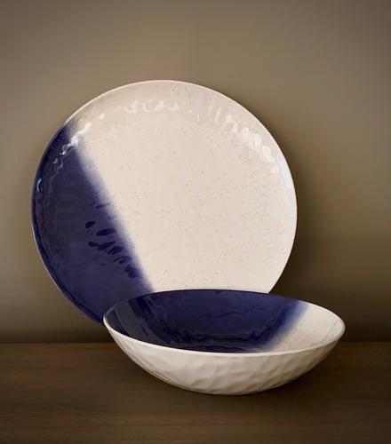 bowl melamina blue