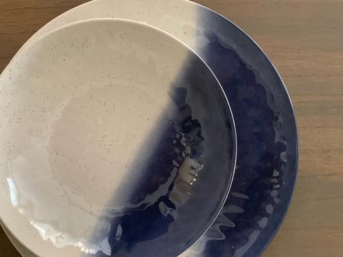bowl melamina blue x 4 unidades