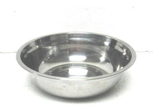 bowl mezclador acero inoxidable set de 2 - reposteria tortas