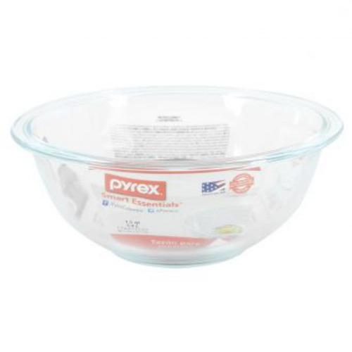 bowl mezclador pyrex 6001018 1.5 litros-transparente