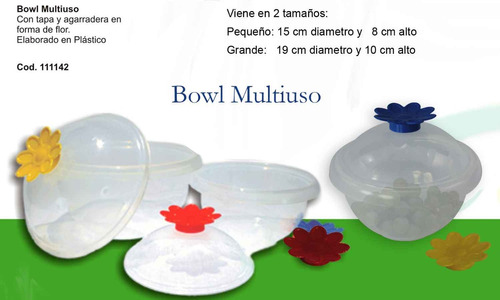 bowl multiusos